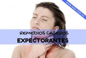 Remedios caseros expectorantes