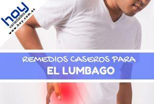 Remedios caseros para el Lumbago