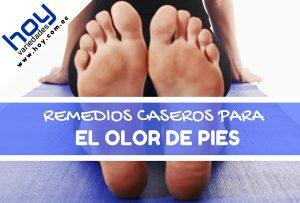 remedios caseros para el mal olor de pies