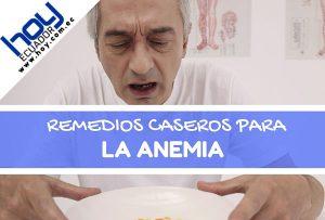 remedios caseros para la anemia en adultos