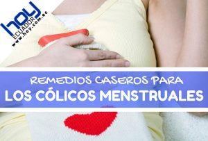 remedios caseros para aliviar y quitar los cólicos menstruales