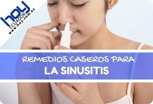 remedios caseros para la sinusitis cronica en adultos