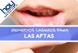remedios caseros para las aftas en la boca y en la lengua