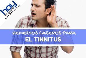 remedios caseros para tinnitus o acufenos