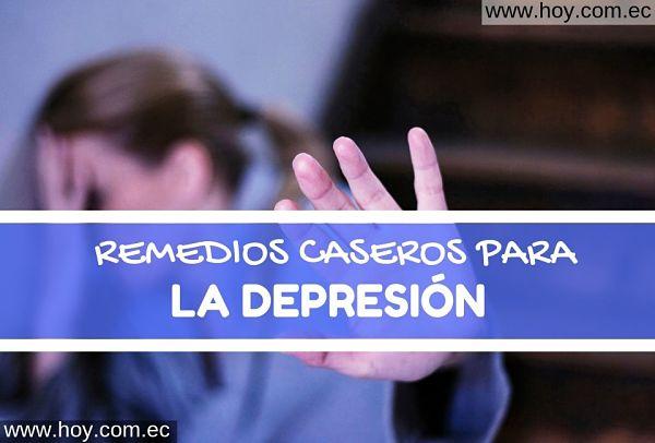 remedios naturales para la depresión