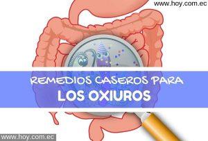 REMEDIOS CASEROS PARA LA OXIURIASIS