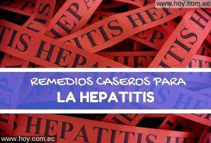 Remedios Caseros para la Hepatitis