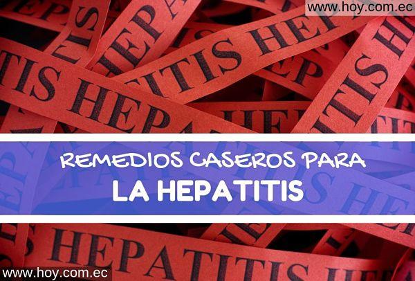 REMEDIOS NATURALES PARA LA HEPATITIS