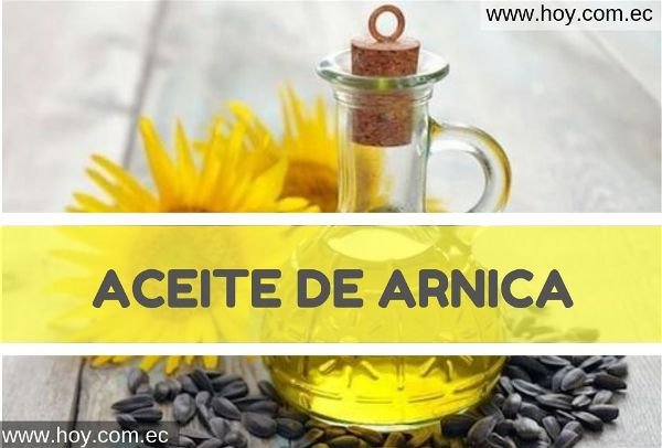 Aceite de árnica