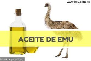 Aceite de emú