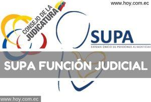 SUPA – Pensión Alimenticia (Código SUPA)